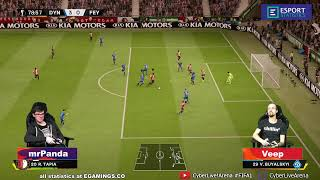 2020.03.06 ► Cyber Europa League ► Dynamo Kyiv (mrPanda) - Feyenoord (Veep)