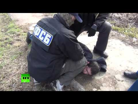 Moment suspect organizer of St. Petersburg Metro terrorist attack busted by FSB