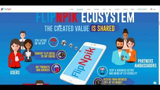 FlipNpik ICO-Social Media For Local Businesses