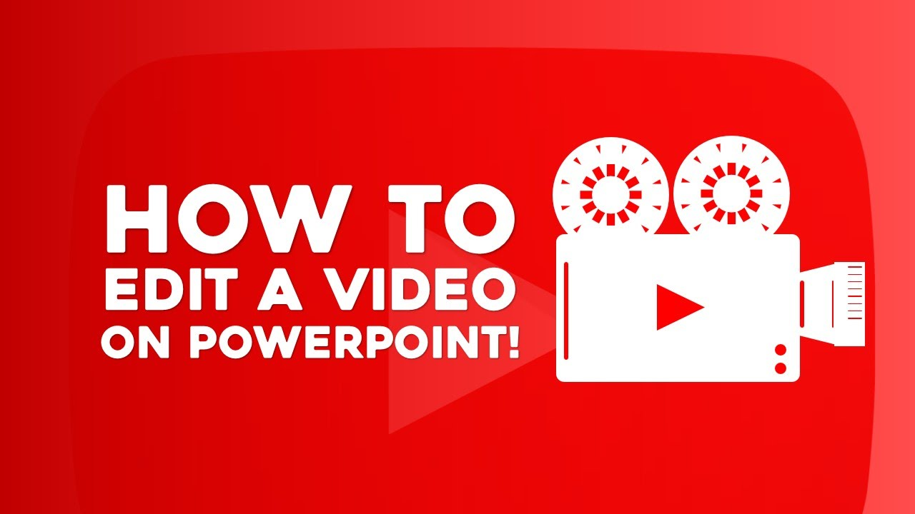 How To Edit Video On Powerpoint!