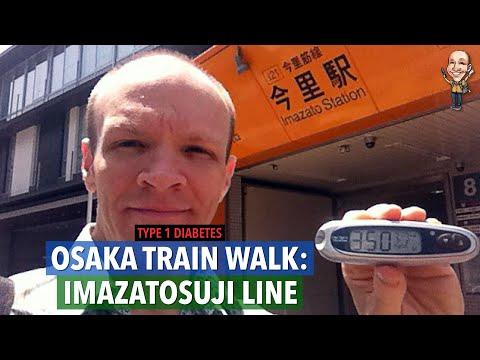9.2-mile T1 diabetic walk, Imazatosuji line, Osaka