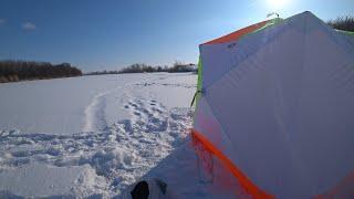 Нашли новое место и попали на отличный клёв Зимняя рыбалка 2021