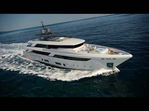 Luxury MegaYacht - Custom Line Yacht Navetta 42 Project