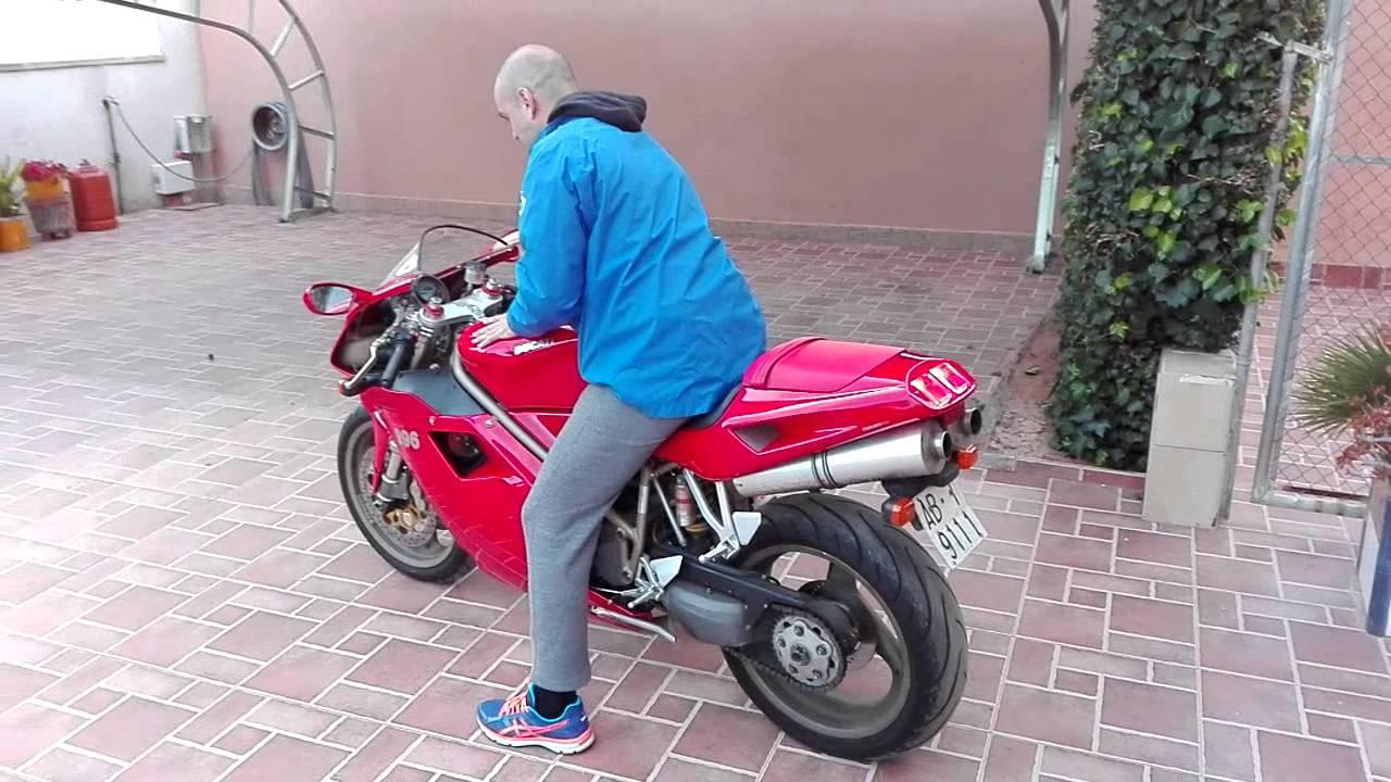 original ducati 996 exhaust sound - youtube