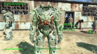 Fallout 4 Mod: Buildable Power Armor Frames PC/Xbox One