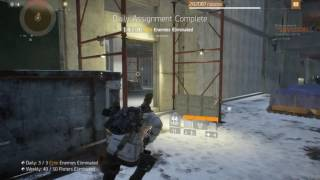 Tom Clancy's The Division PTS Weekly HVT
