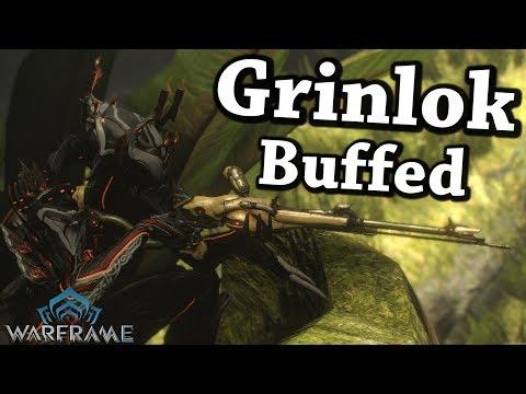 Warframe | Grinlok [Buffed] (4 Forma Build)