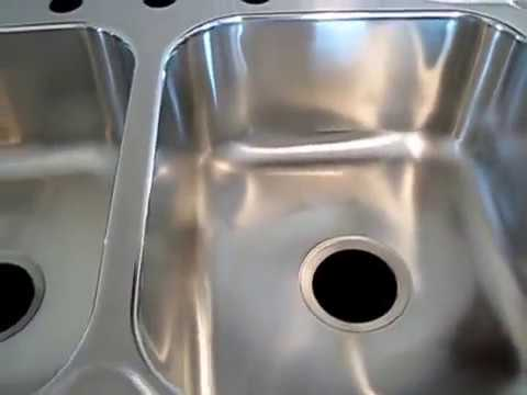 How To Repair A Leaking Stainless Steel Sink Basin, At Stainer