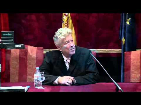 Conferencia de David Lynch en Universidad Carlos III, Madrid (versión original en inglés)
