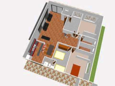 Planos de casas vista aerea for Fachadas de casas modernas trackid sp 006