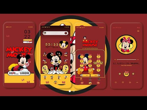 MICKEY MOUSE (Theme For All OPPO and Realme)