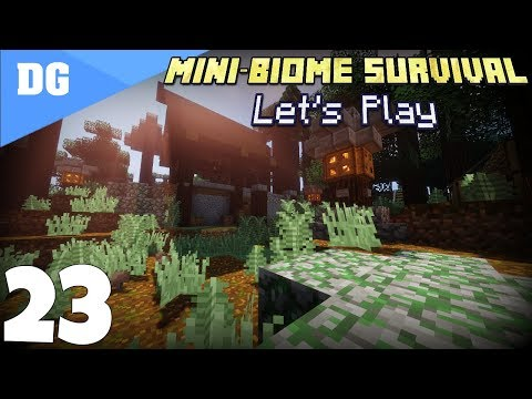 "Minecraft: Mini Biome Survival Let's Play - Episode 23 - ""Landscape and The FCC"" 