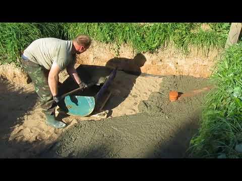 Строительство погреба в деревне. Часть 1.