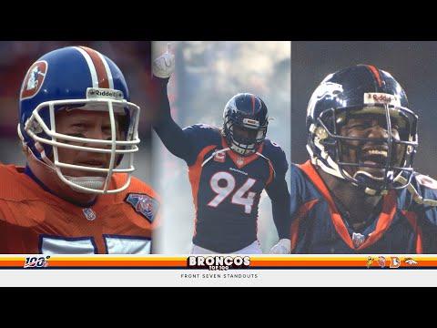Broncos 100: DeMarcus Ware, Von Miller, Bill Romanowski, Alfred Williams, Karl Mecklenburg
