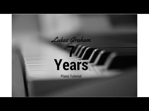 7 Years by Lukas Graham Piano Tutorial   #easy