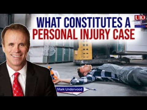 What constitutes a personal injury case?