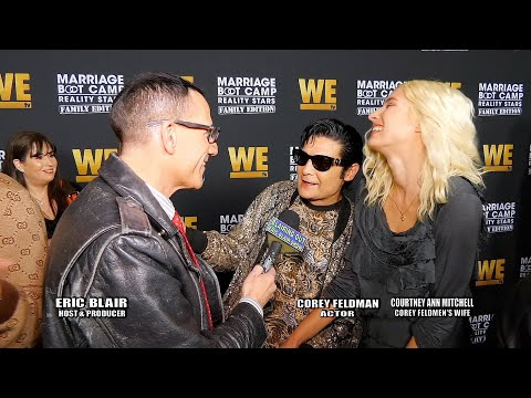 Actor Corey Feldman and wife Courtney talk Marriage Boot Camp 2019