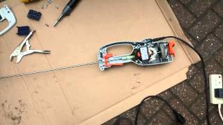 Stihl electric hedge trimmer blades stopped working