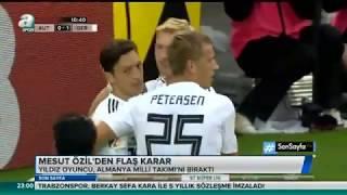 Mesut Özilden Alman milli takımını bıraktı   İşte detaylar..