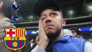 Match Day Vlog: Tottenham (2) vs Barcelona (4)| We Showed Spirit | Messi Is The Best In The World