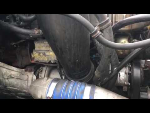 Freightlinet Cascadia DD15 engine problem - ROD and MAIN bearings bad