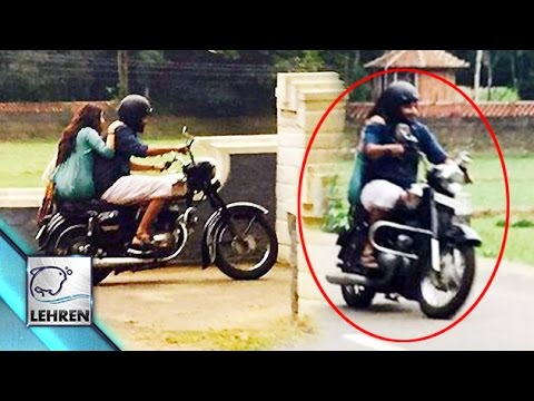 Dulquer Salmaan SPOTTED With Anu Emmanuel On Amal Neerad's Movie Sets | Lehren Malayalam