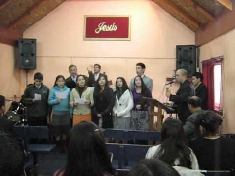 Juventud iglesia de Concepcion- 01 mayo 2009