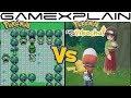 Pokémon Let's Go Pikachu Vs Pokémon Yellow - Celadon City Graphics Comparison (Switch vs Game Boy)
