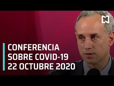 Conferencia Covid-19 en México - 22 octubre 2020