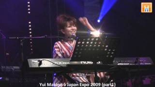 Yui Makino (牧野由依) en concert à Japan Expo 2009 HD part 1