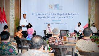 Download Pengarahan Presiden RI kepada Para Direktur Utama BUMN, Kabupaten Manggarai Barat, 14 Oktober 2021
