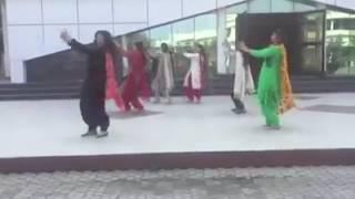 performing on rohab rakhdi song by nimrat khaira