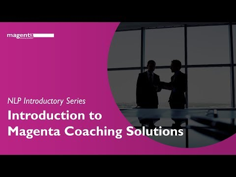 Introduction to Magenta Coaching Solutions - by Bevis Moynan