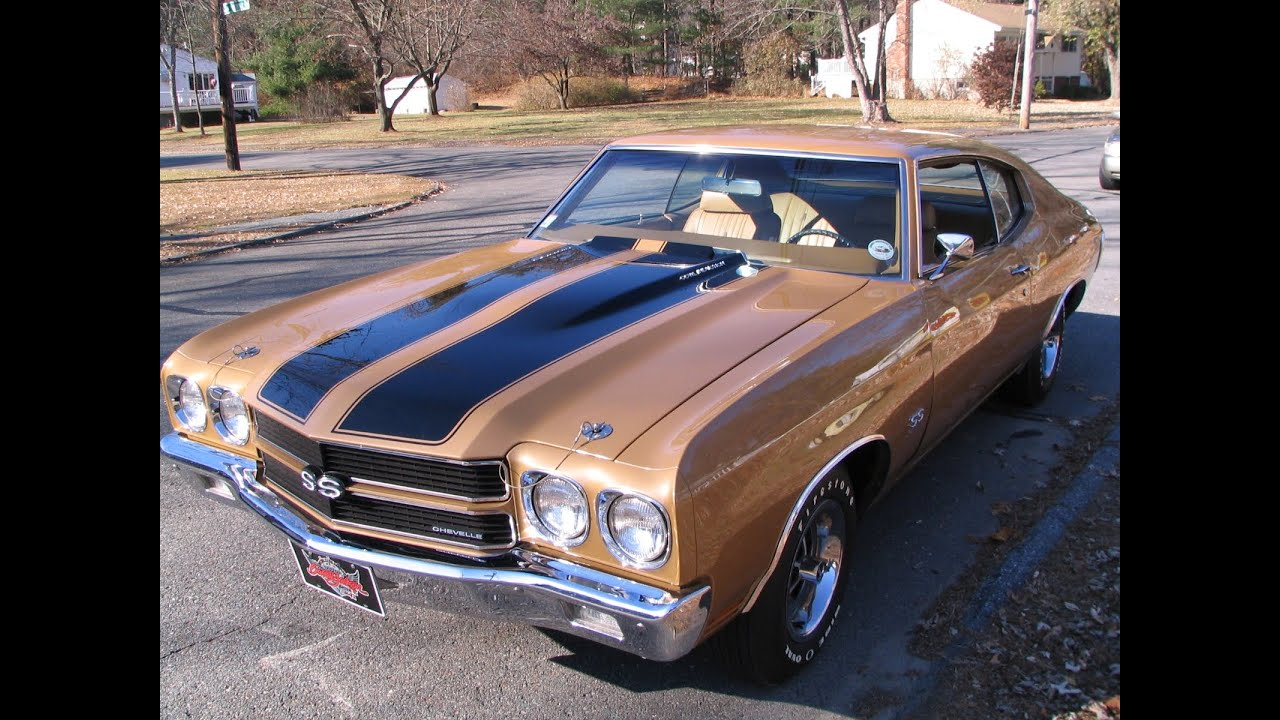 1970 Chevelle Ss454 S Matching Ls 5 4 Spd Youtube