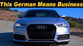 2016 / 2017 Audi A6 3.0T Review and Road Test | DETAILED in 4K!