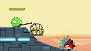 Angry Birds Ultimate Battle - RESCUE CHUCK! TEAM ANGRY BIRDS SHOOT PIGGIES!