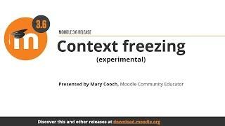 Context freezing