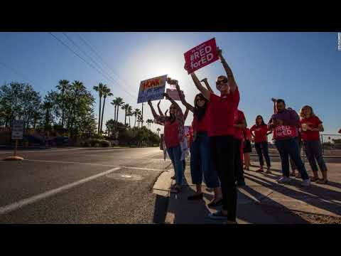Teaching Staff In Arizona And Colorado Are Rallying For High School Financing