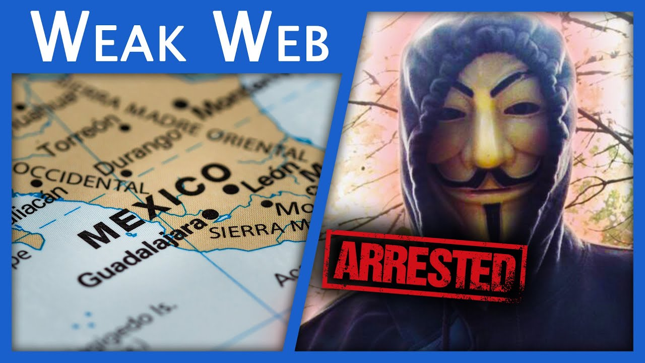 Anonymous Fugitive Arrested in Mexico...