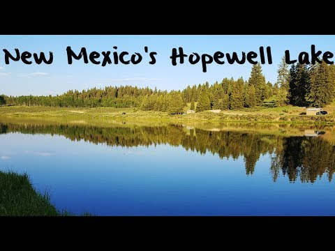 Trout Fishing New Mexico's Hopewell Lake