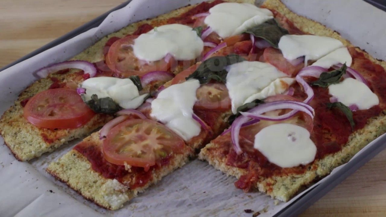 How to Make Cauliflower Pizza Crust Video