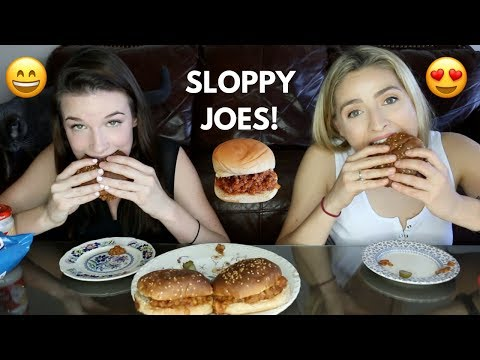 SLOPPY JOE MUKBANG! (vegan) crazy concert storytimes!