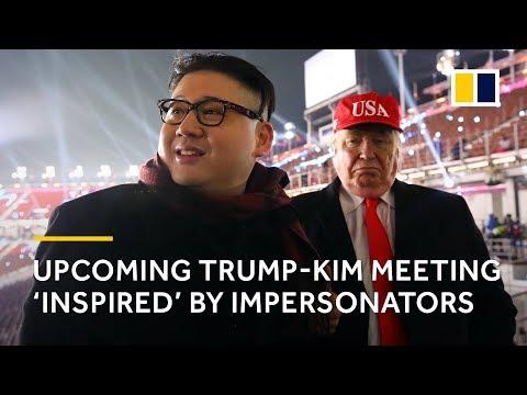 Trump and Kim impersonators claim they 'inspired' Singapore summit