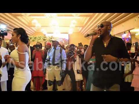 Tuface Idibia (2Baba) dazzles Orji Uzor Kalu's daughter, NEYA on Wedding Night