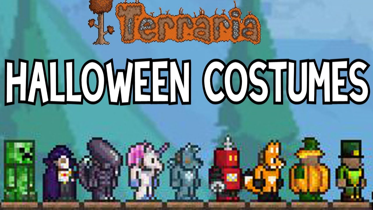 Terraria - Halloween Costume Showcase - YouTube