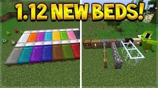 NEW DYEABLE BEDS!! Minecraft 1.12 Update - Snapshot 17w15a - NEW Beds & Block Mechanics!