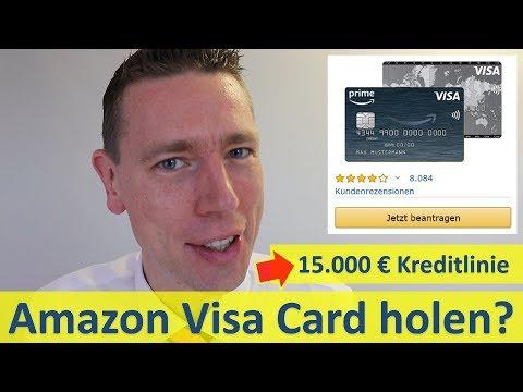 Amazon Visa Card Mit 15.000 € Kreditlinie?