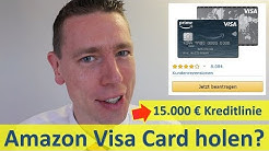 Amazon Visa Card mit 15.000 € Kreditlinie?
