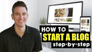 How to Start a Food Blog - Step by Step Tutorial for Beginners