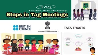 Steps in Tag Meeting   Sessions in Tag meeting   Energizers and warmers in TAG